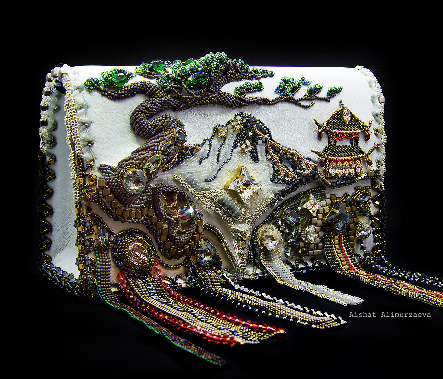 Beautiful Bead Embroidery Bags Beads Magic