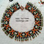 Free pattern for necklace Tabitha