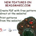 NEW feature! Create patterns in PDF and Print from Beadsmagic