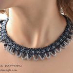 Free pattern for necklace Asha