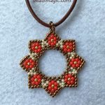 Free pattern for pendant Stella