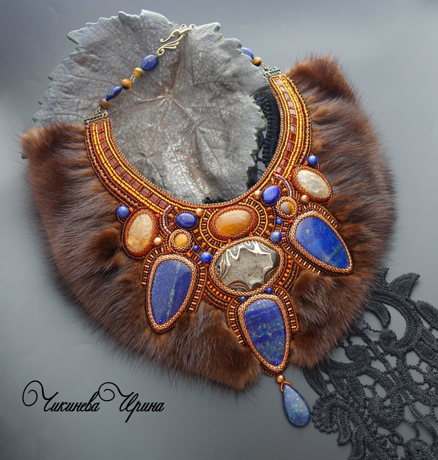 Beautiful jewelry with fur (part 2)