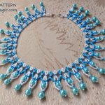 Free pattern for necklace Mumtaz