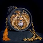 Beautiful bead embroidered bags