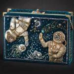 Beautiful beadwork in space and sci fi style