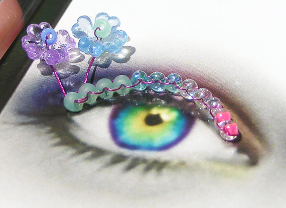 eyelash jewellery