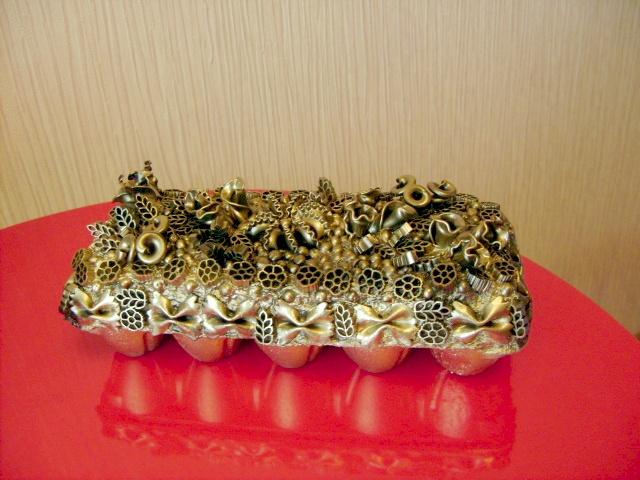 hand-made bead box