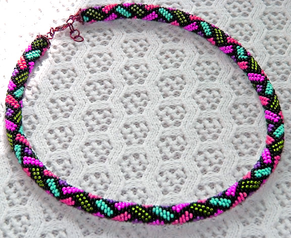 Beaded Crochet Ropes Beads Magic