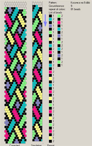 Free Pattern For Beaded Crochet Rope Mallow Beads Magic