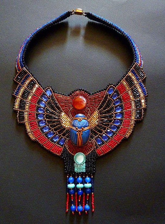 Beautiful Jewelry In Egyptian Style Beads Magic