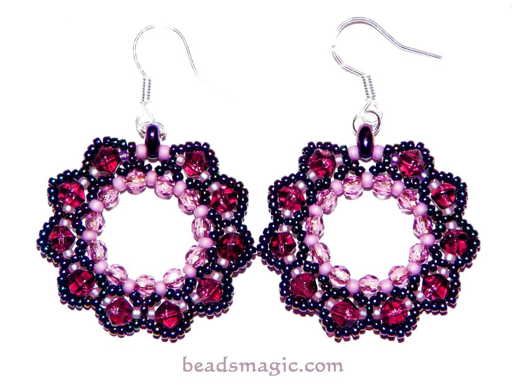 1 Pattern Earrings