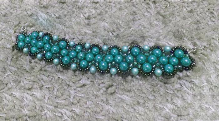 Free Pattern For Bracelet Dara Beads Magic