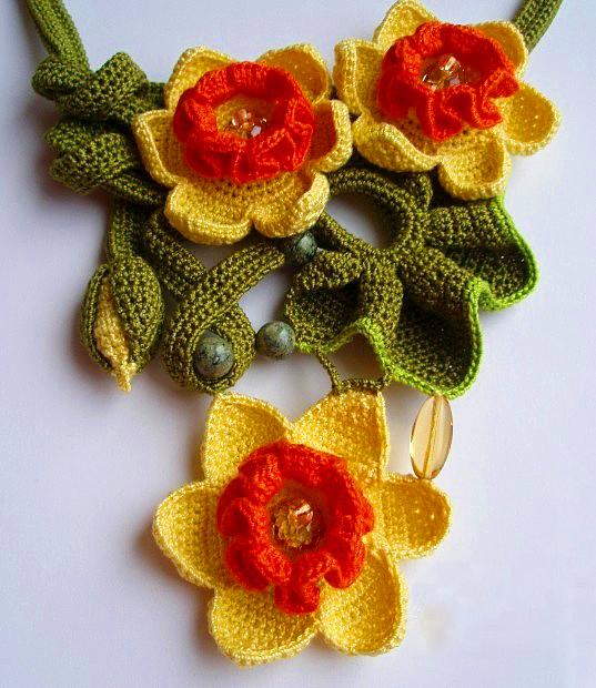Original crochet jewelry by tatiana potemkina beads magic 14 ccuart Gallery