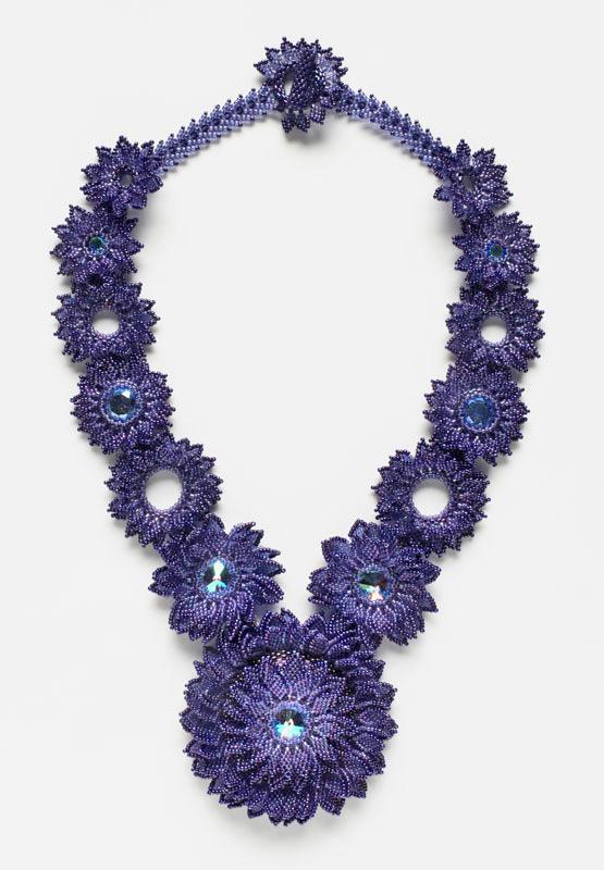 Violet Blossoms by Gabriela Mendez Fernandez