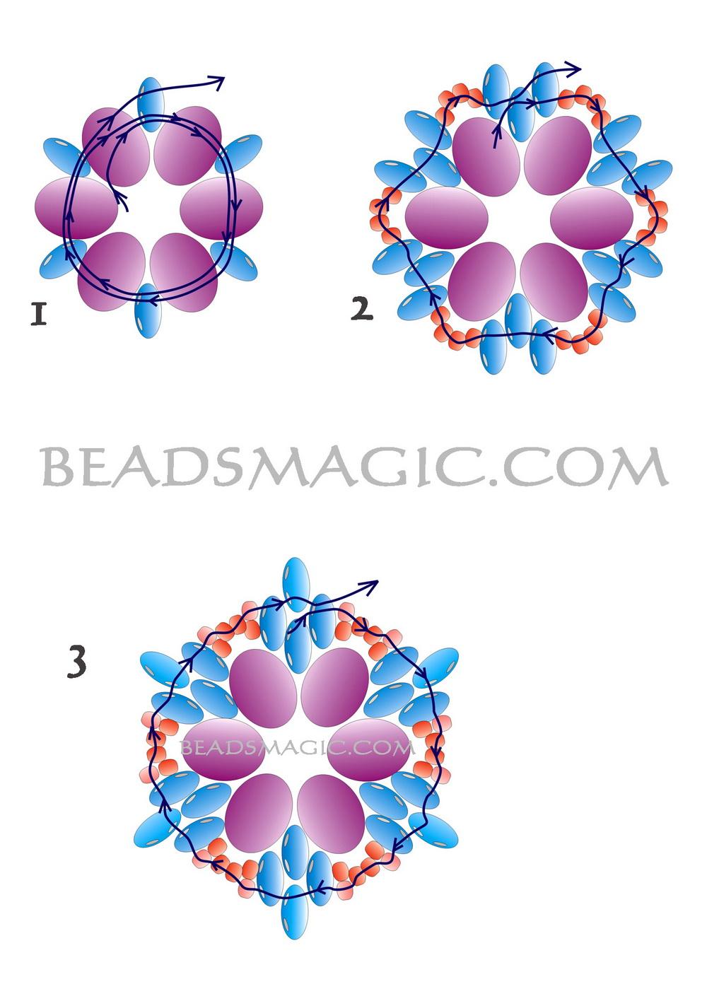 free-beading-pattern-earrings-twin-1