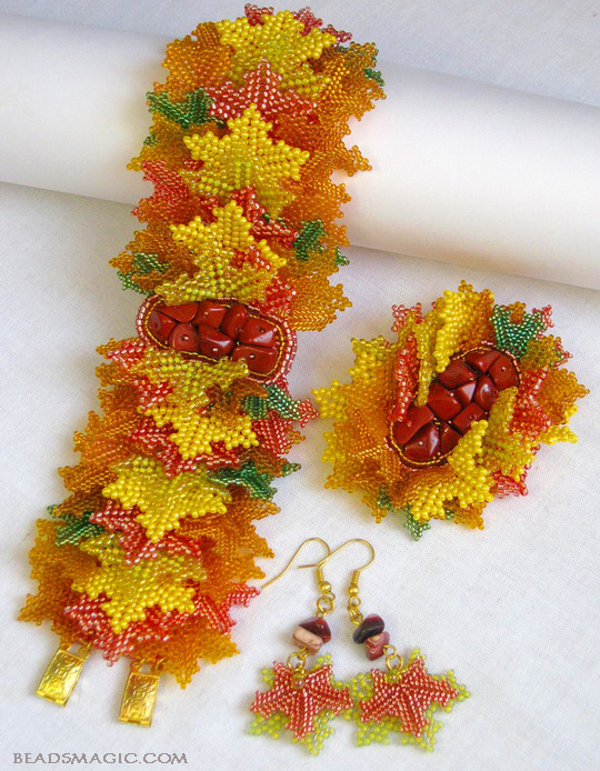 Beautiful Atumn inspiration jewelry