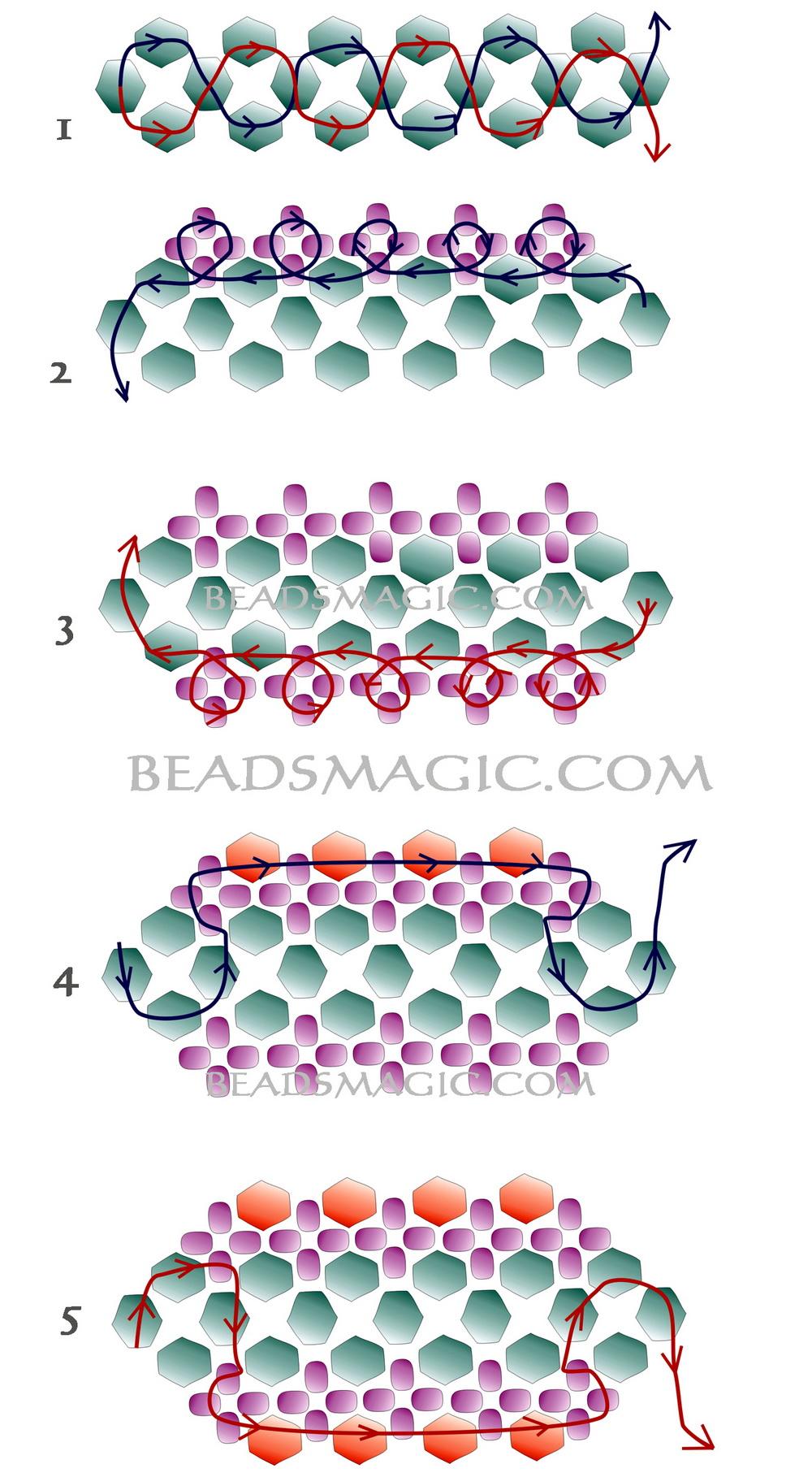 free-beading-bracelet-pattern-2