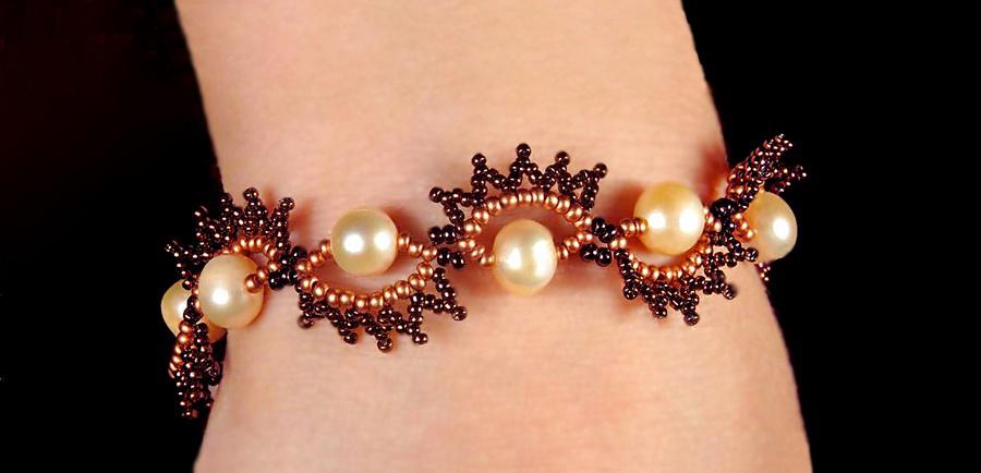 Free Pattern For Beaded Bracelet Peles Beads Magic
