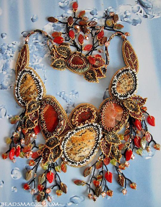 Beautiful Atumn inspiration jewelry (part 2)