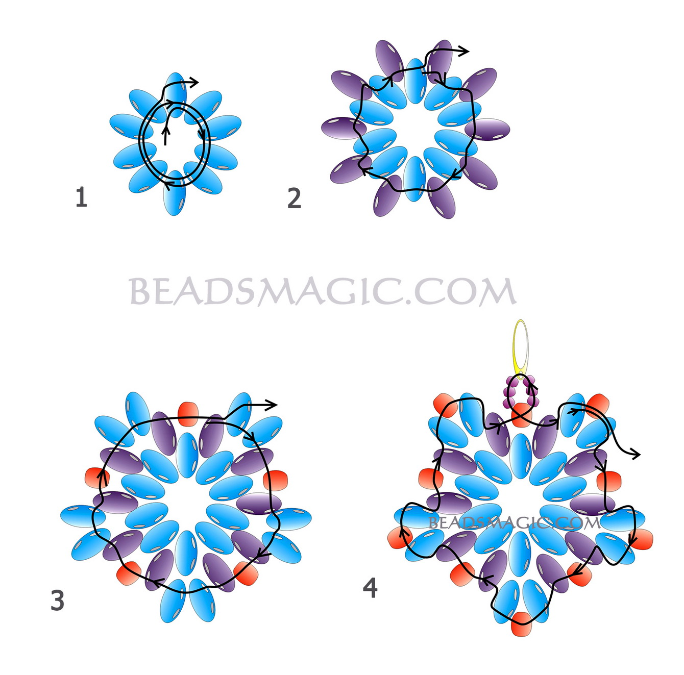 free-beaded-earrings-tutorial-2