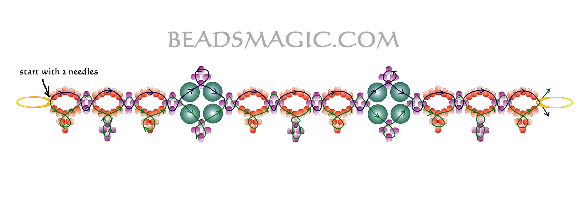 free-beading-necklace-tutorial-2