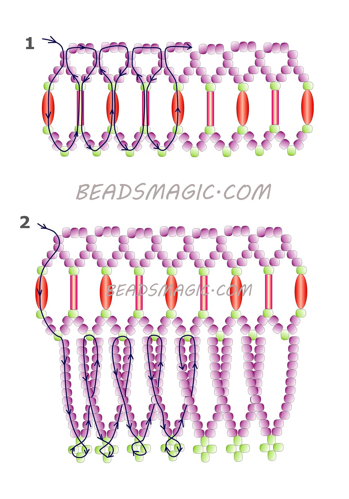 free-beading-neckace-tutorial-2