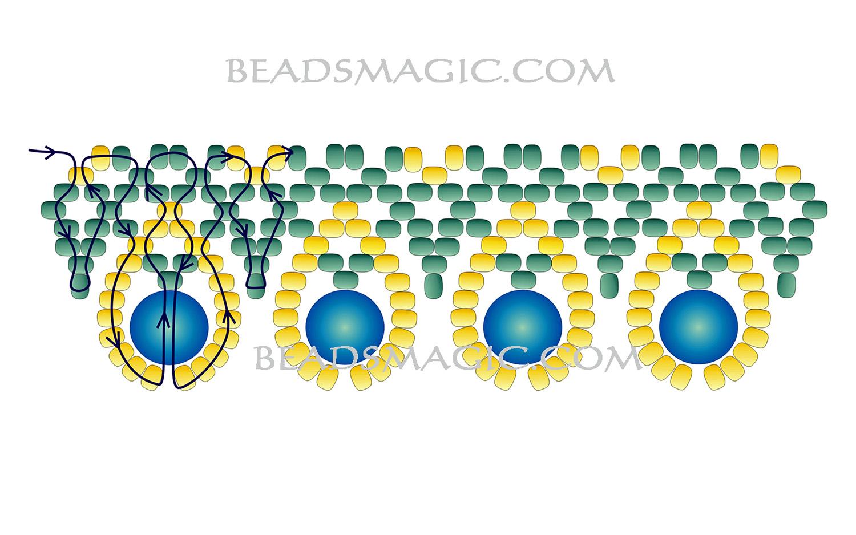 free-beading-necklace-tutorial-2