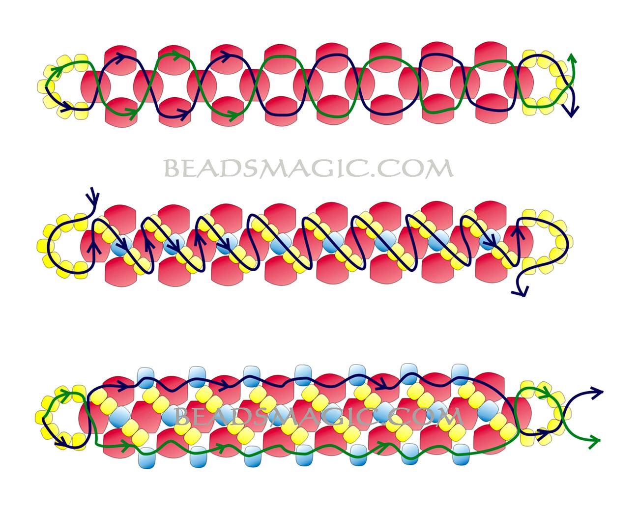 free-beading-tutorial-bracelet-2