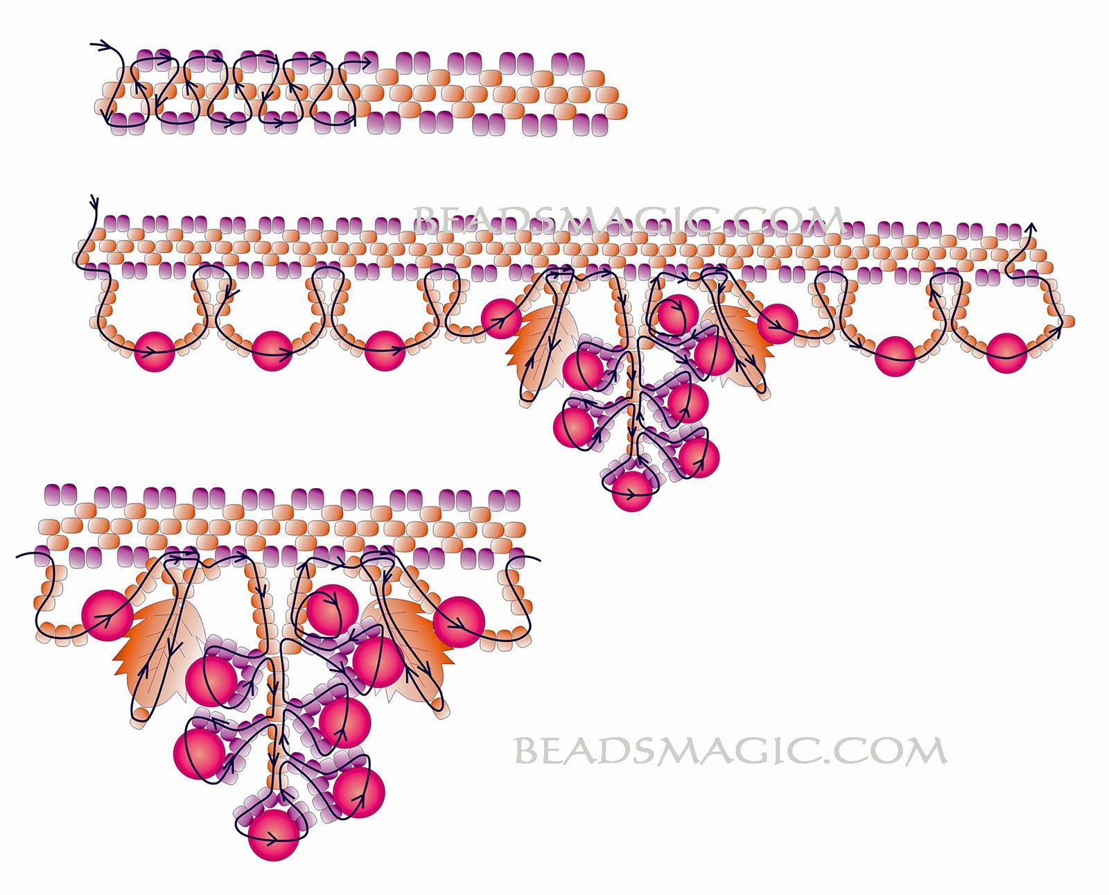 free-beading-tutorial-necklace-pattern-aututmn-2