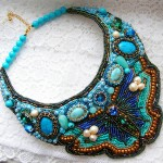 Beautiful beaded jewelry with butterflies (part II)