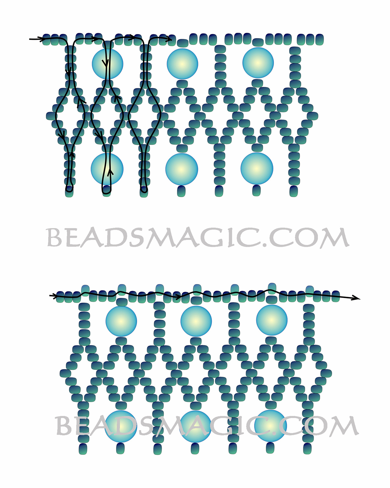 free-beading-tutorial-necklace-blue-2
