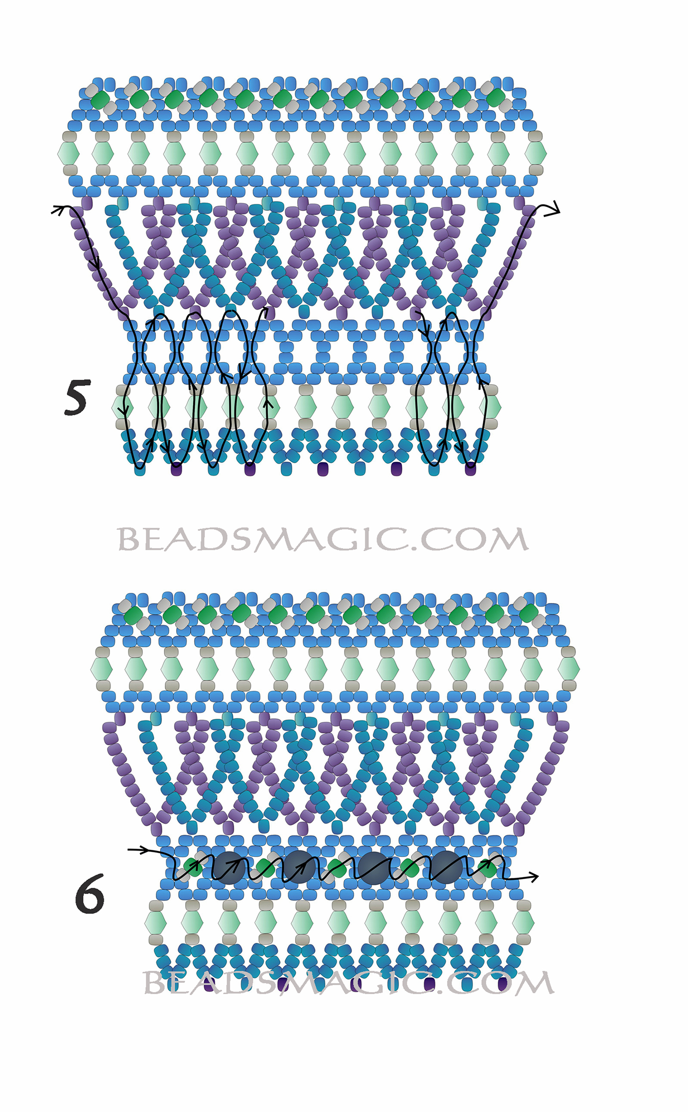 free-beading-tutorial-necklace-pattern-2-2
