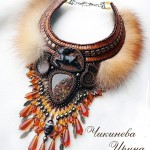 Beautiful and original jewelry with fur