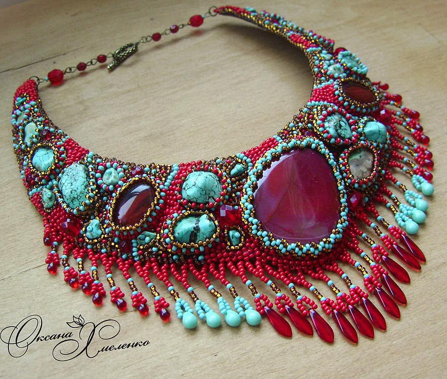 Design of the day – necklace Gulnara by Oksana Hmelenko