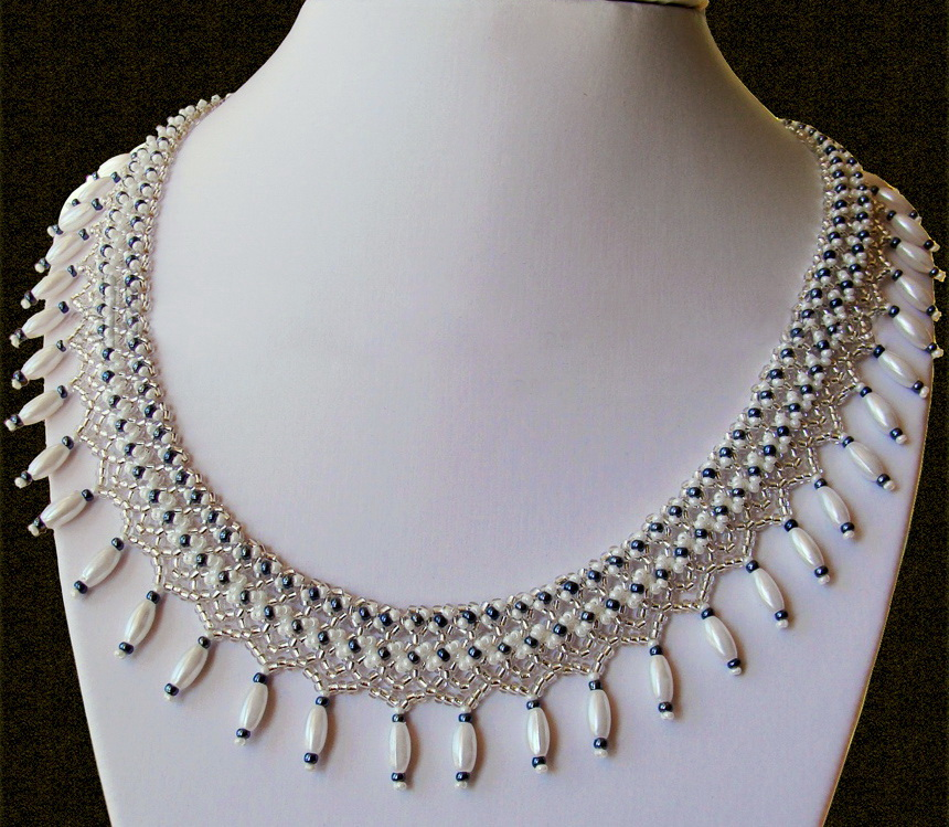 Free pattern for necklace Marriage Day