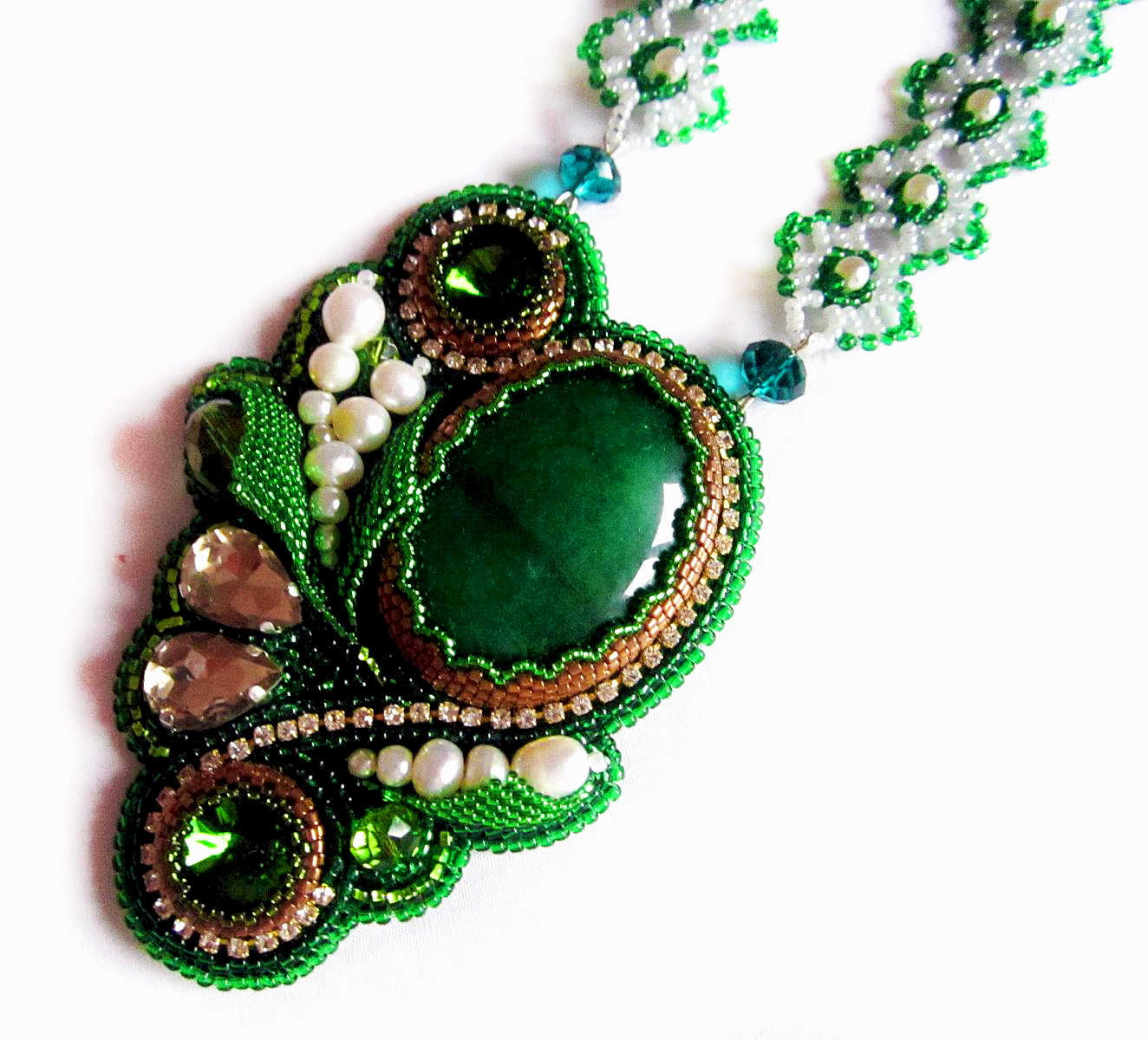 Design of the day – necklace Forest Lake by Olika58