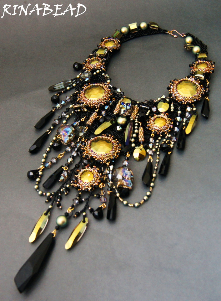 Design of the day – necklace Forgotten dreams by RinaBead