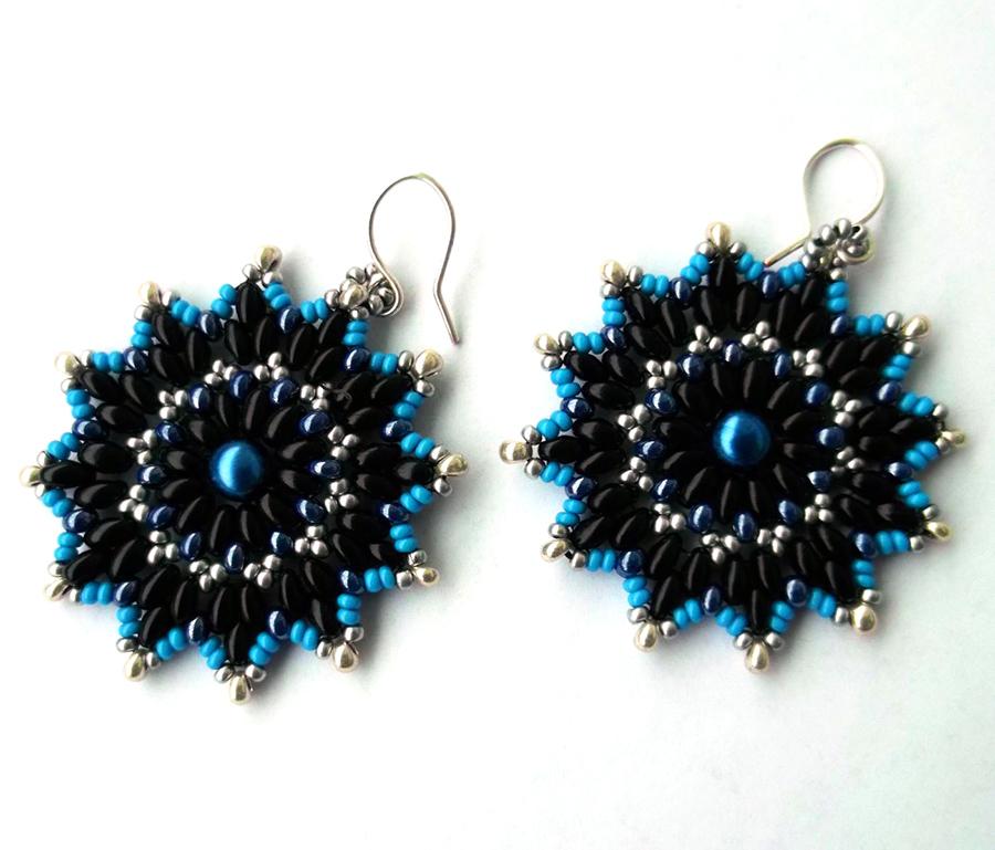 Free pattern for earrings Bonny