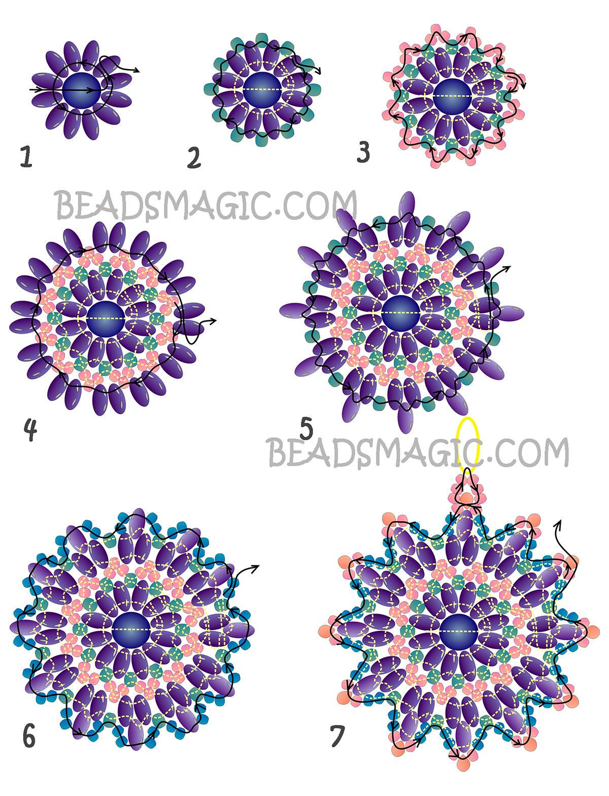 free-pattern-earrings-tutorial-2
