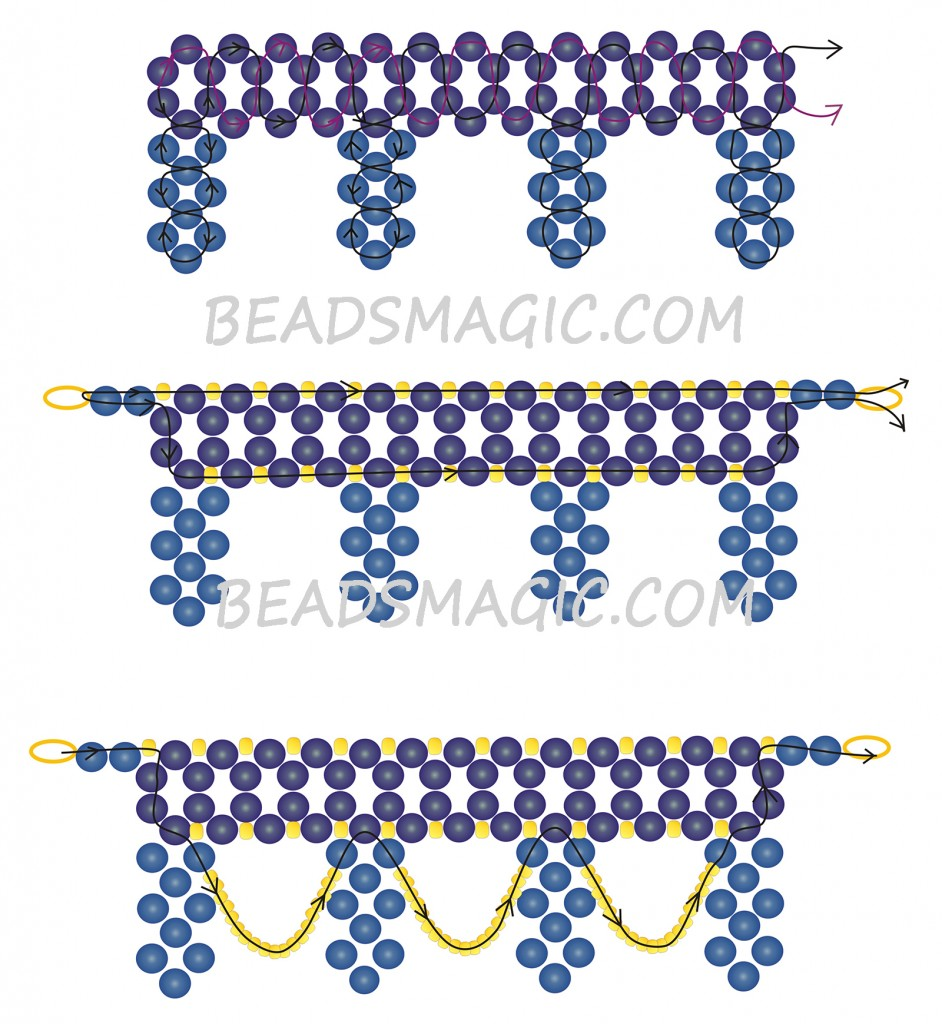free-beading-tutorial-instructions-necklace-pattern-2-1