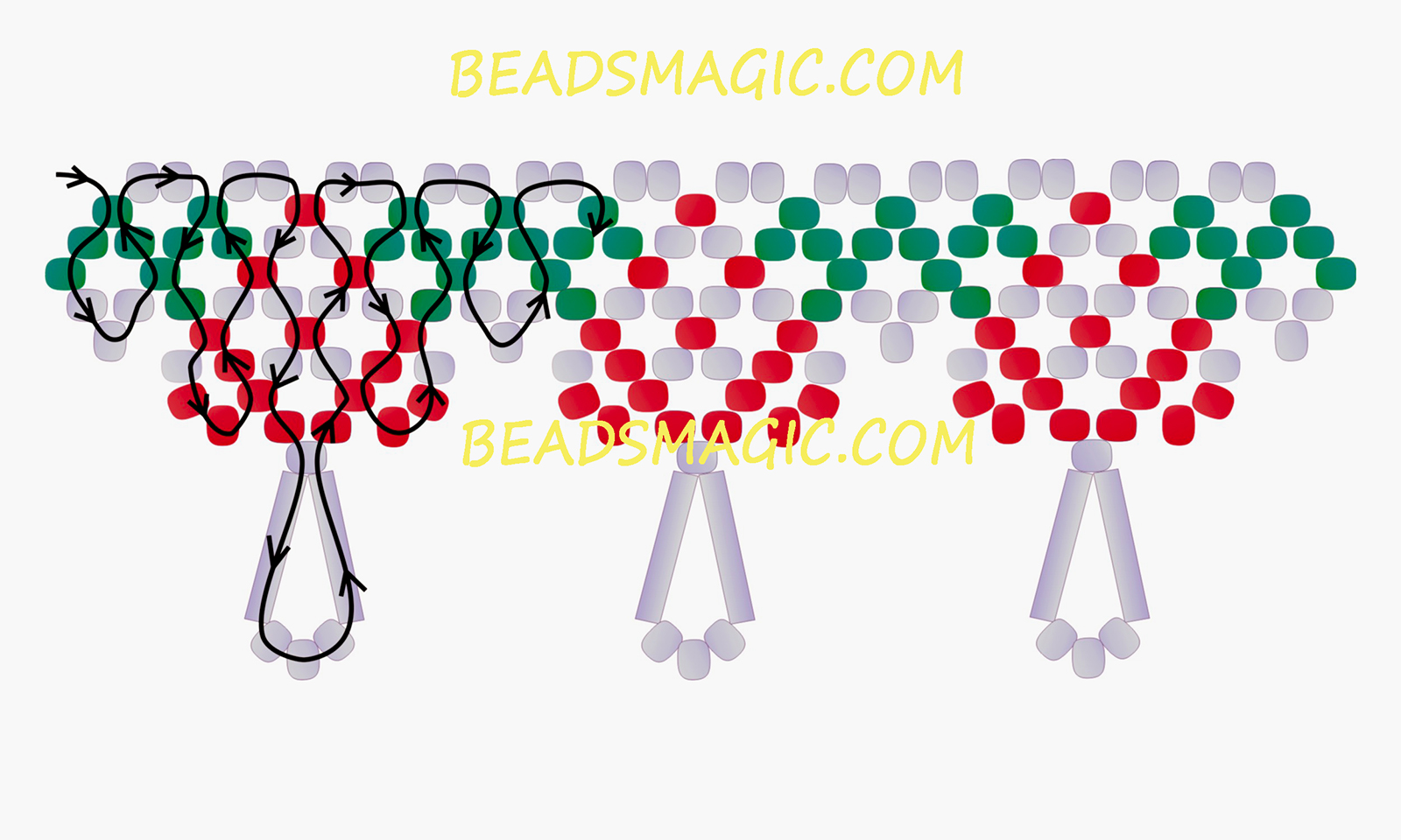 free-beading-tutorial-necklace-pattern-instructions-2