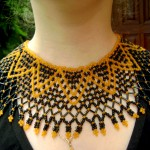 Free pattern for necklace Dana