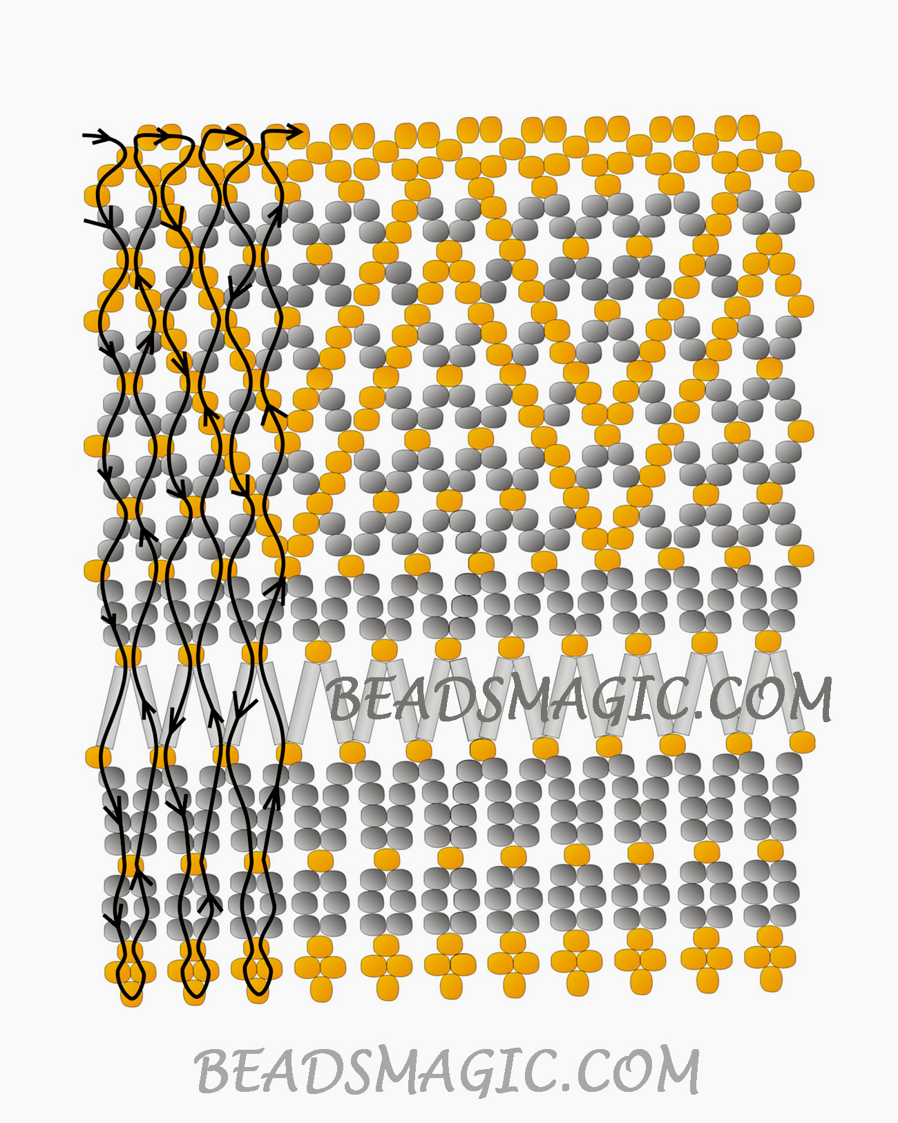 free-beading-tutorial-necklace-instructions-pattern-2-1