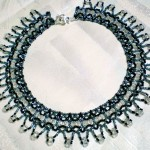 Free pattern for necklace Trouvaille
