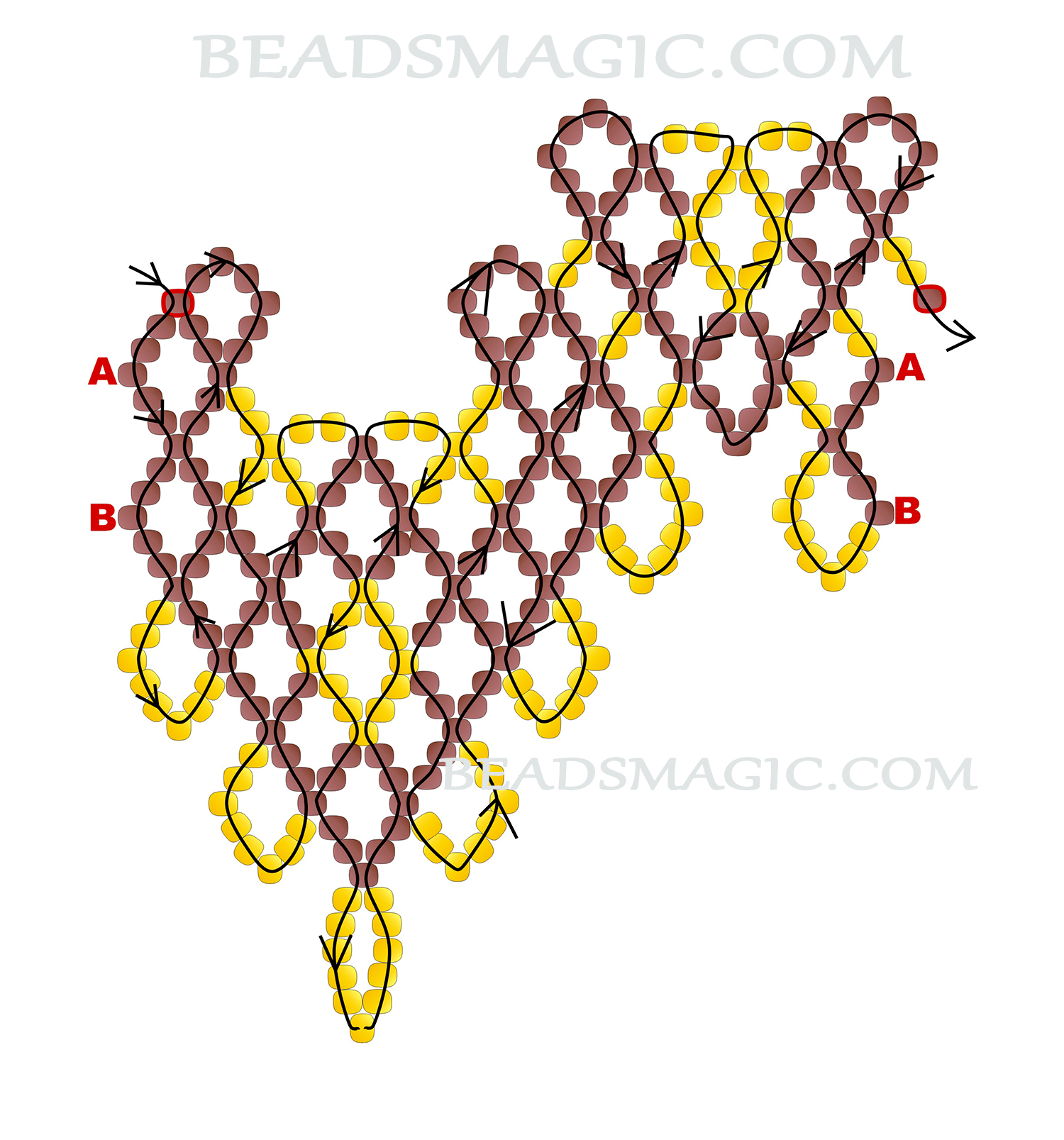 free-beading-pattern-tutorial-instructions-necklace-2