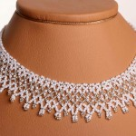 Free pattern for wedding necklace Dia