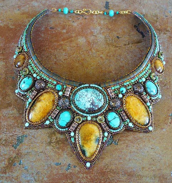 Beautiful jewelry by Guzel Bakeeva