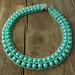 Free pattern for necklace Minty
