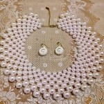 Free pattern for necklace Only Pearls