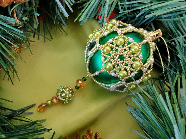 Hand Decorated Christmas Balls